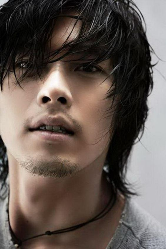 best of Long Asian man haired