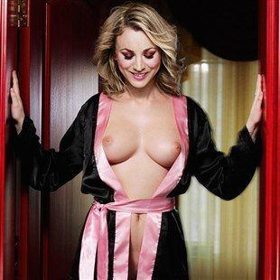 With you kaley cuoco nackt porno striptease