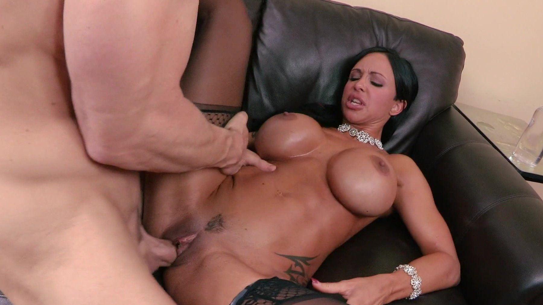 Hot big tit milf gets fucked
