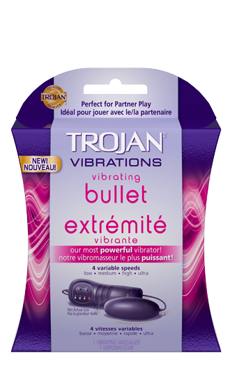 Review of experience using condom vibrator