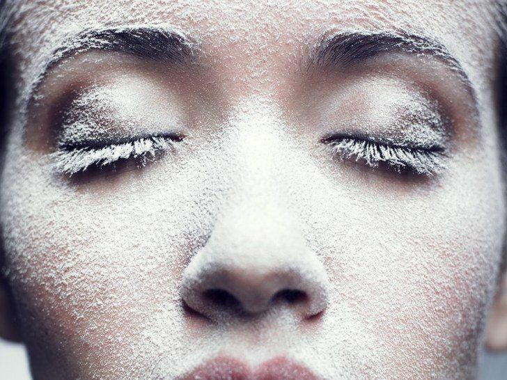 Jewel reccomend Liquid nitrogin at home facial