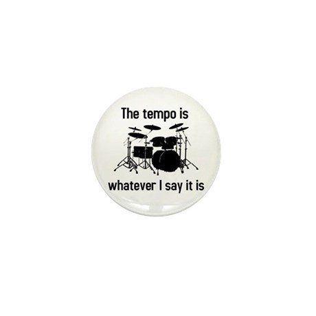 Joke drum button