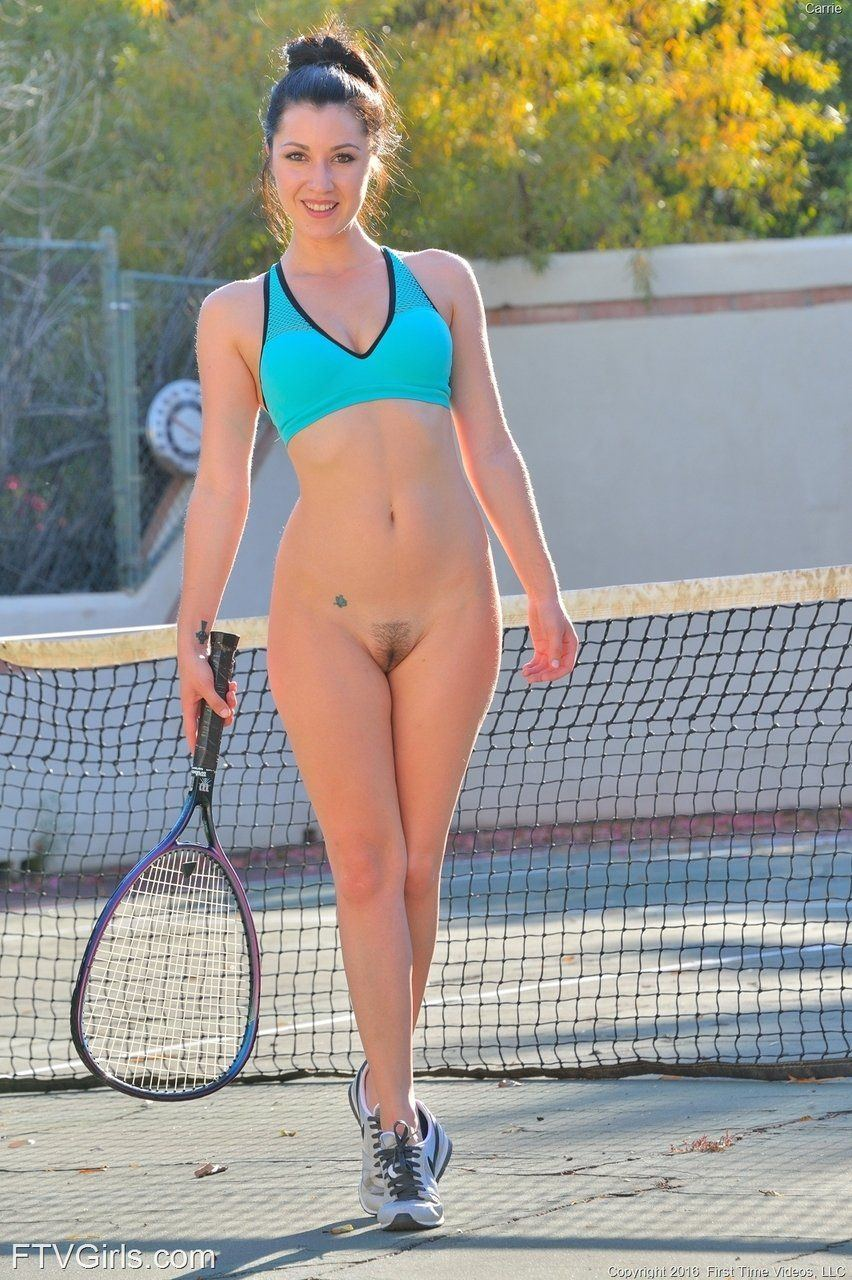 Useful nude tennis stars playing tennis
