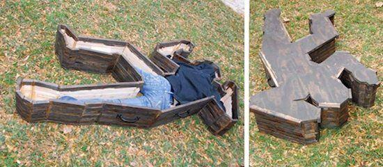Lem /. L. reccomend Funny strange coffins