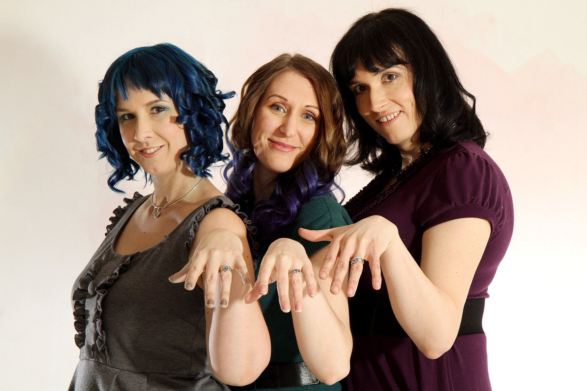 Three college lesbians