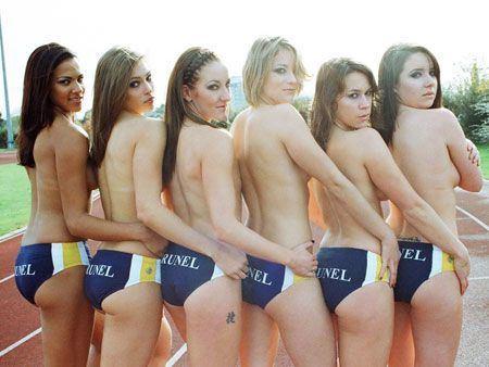 Girl sports teams nude — img 4