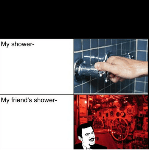 Shower with my friends wife