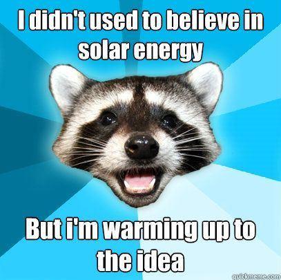 Leaf reccomend Solar panel jokes
