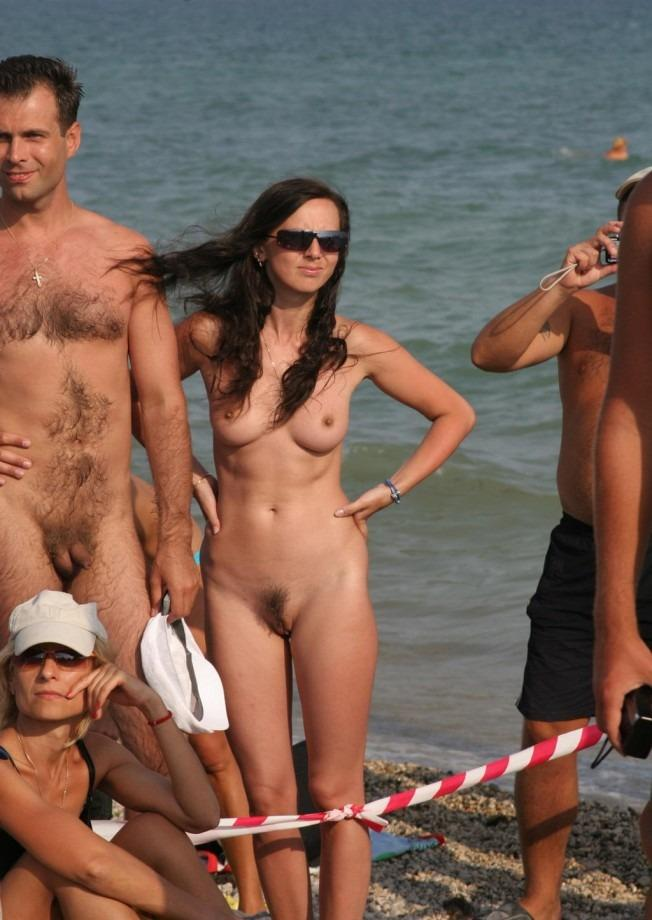 best of Cock beach nudist Small on