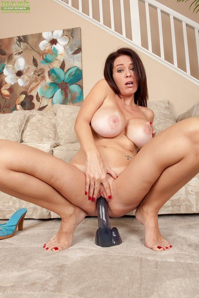 Charming hot nudes of women using dildos