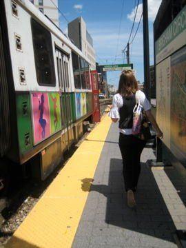 Slut gets train rode on her