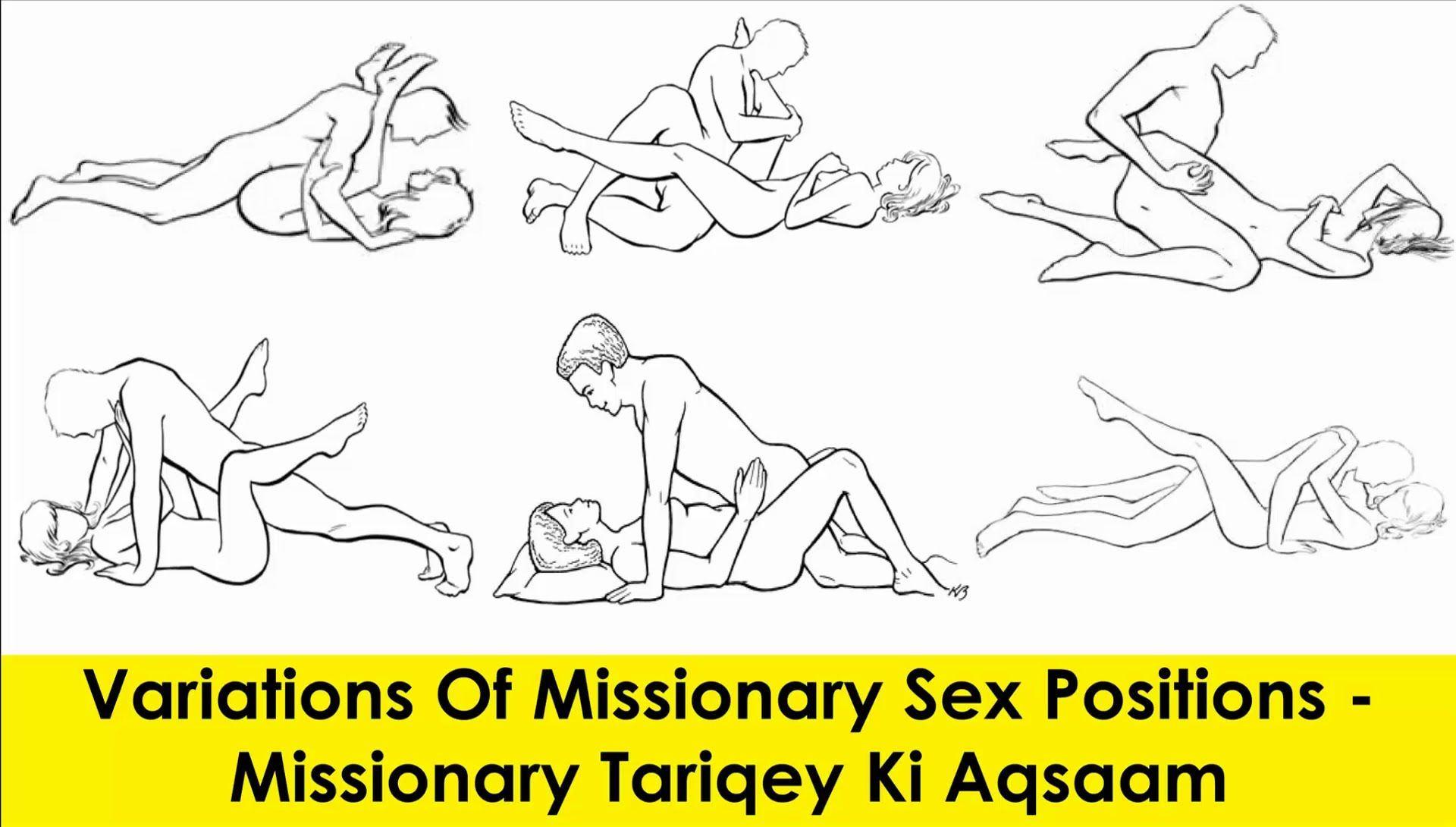 Missionary sex pose