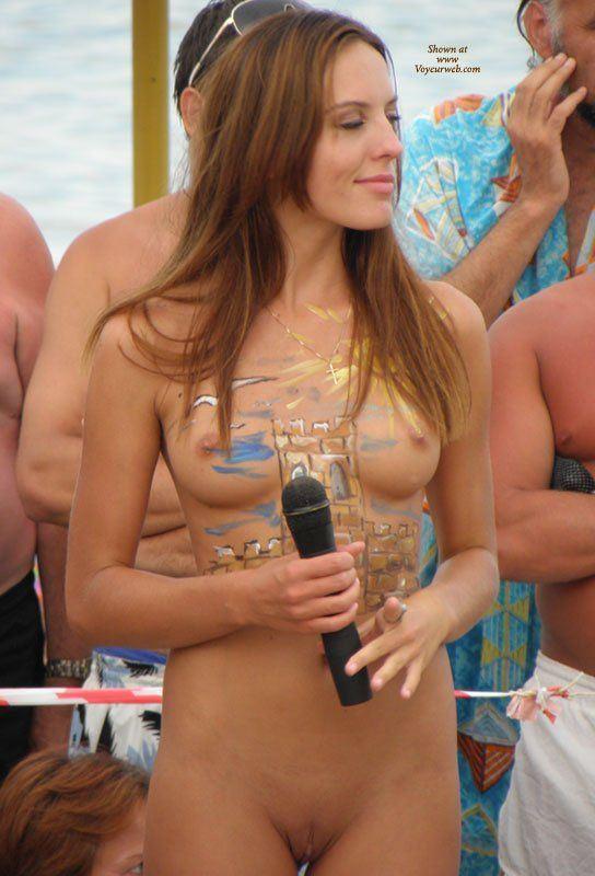 Bikini petite nudist pageant nude women