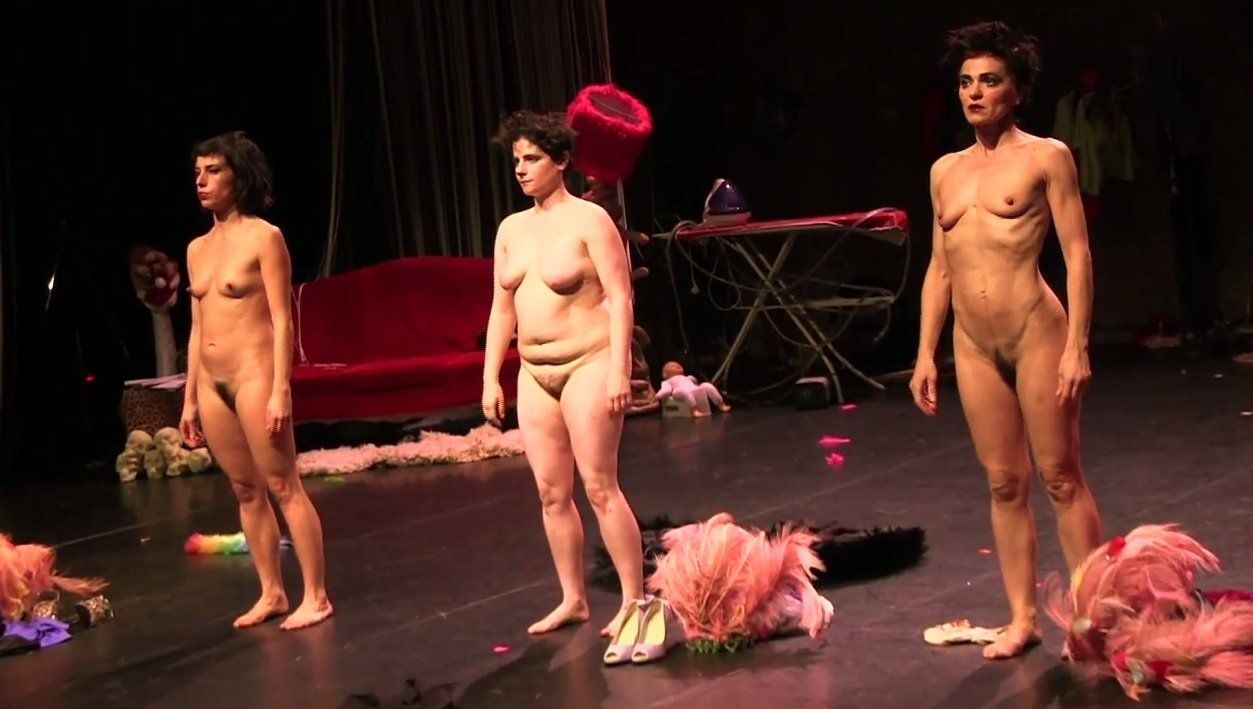 Strip on stage nude