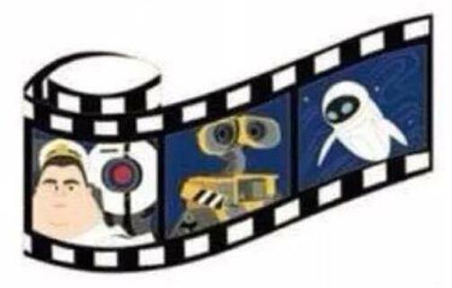 Many disney movie strip