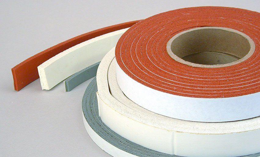 High temp foam strip adhesive