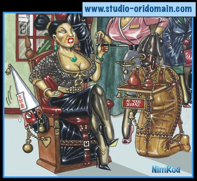asian femdom cartoon
