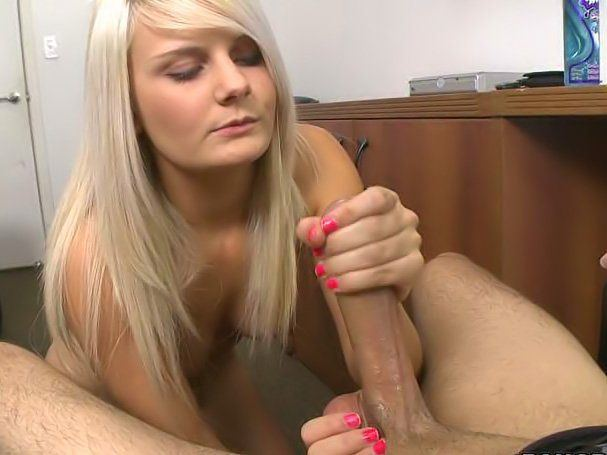 Amateur hand her