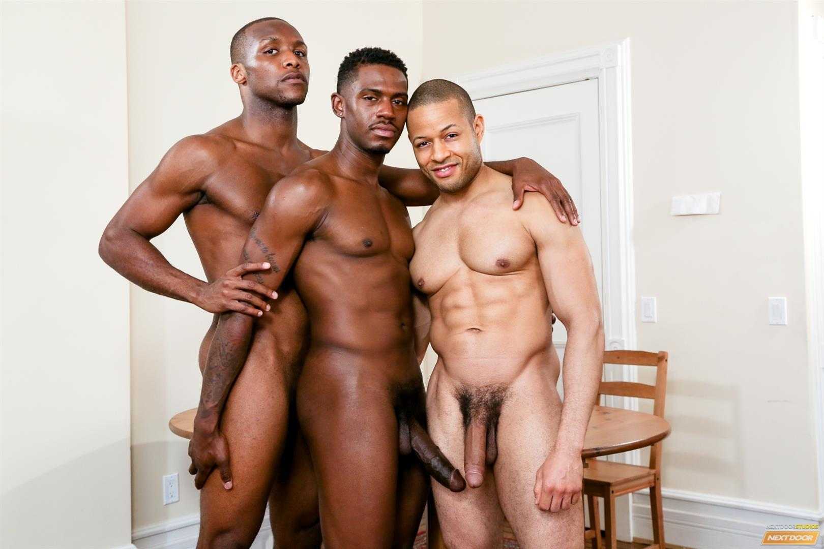 Gay threesome galleries