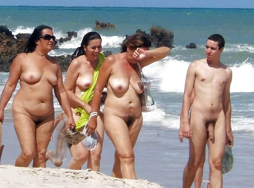 best of Cock nudist beach Big