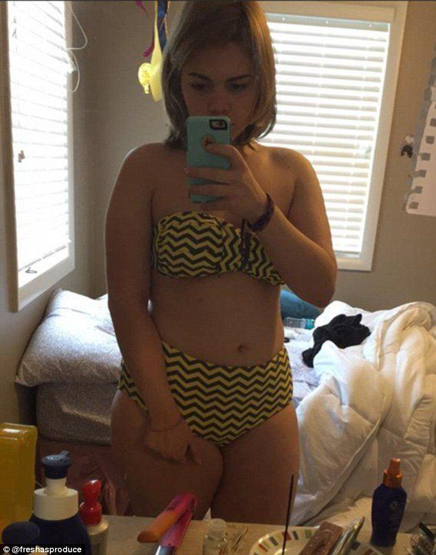 Be-Jewel reccomend Chubby teen girl selfies