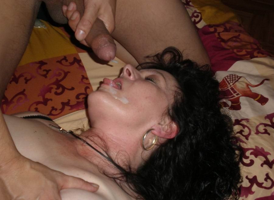 Mature women love cum