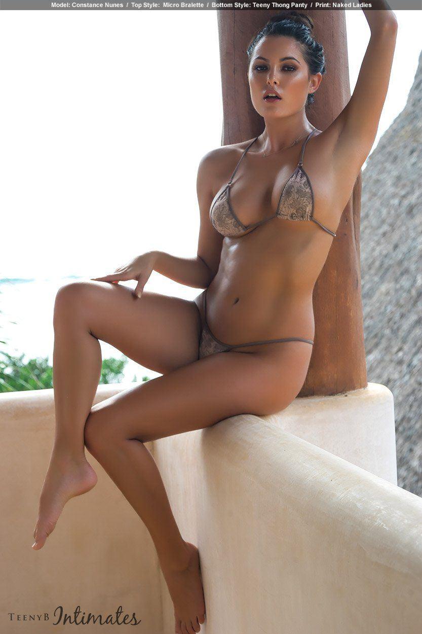 Model In Lingerie Nude