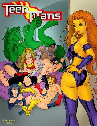 Teen titans having sex with big boobs