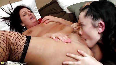 best of Lick tube Mom daughter