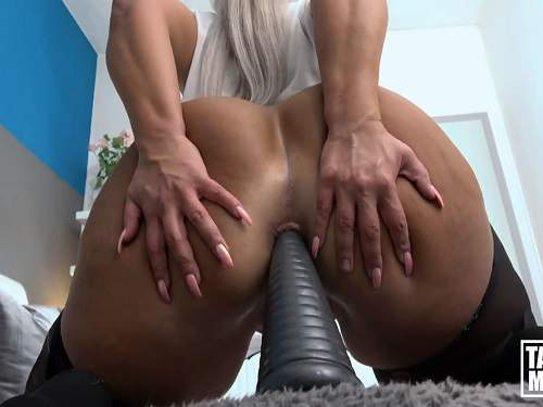 German mature anal dildo