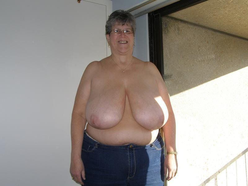 Grandmother saggy breasts free galleries nude pic