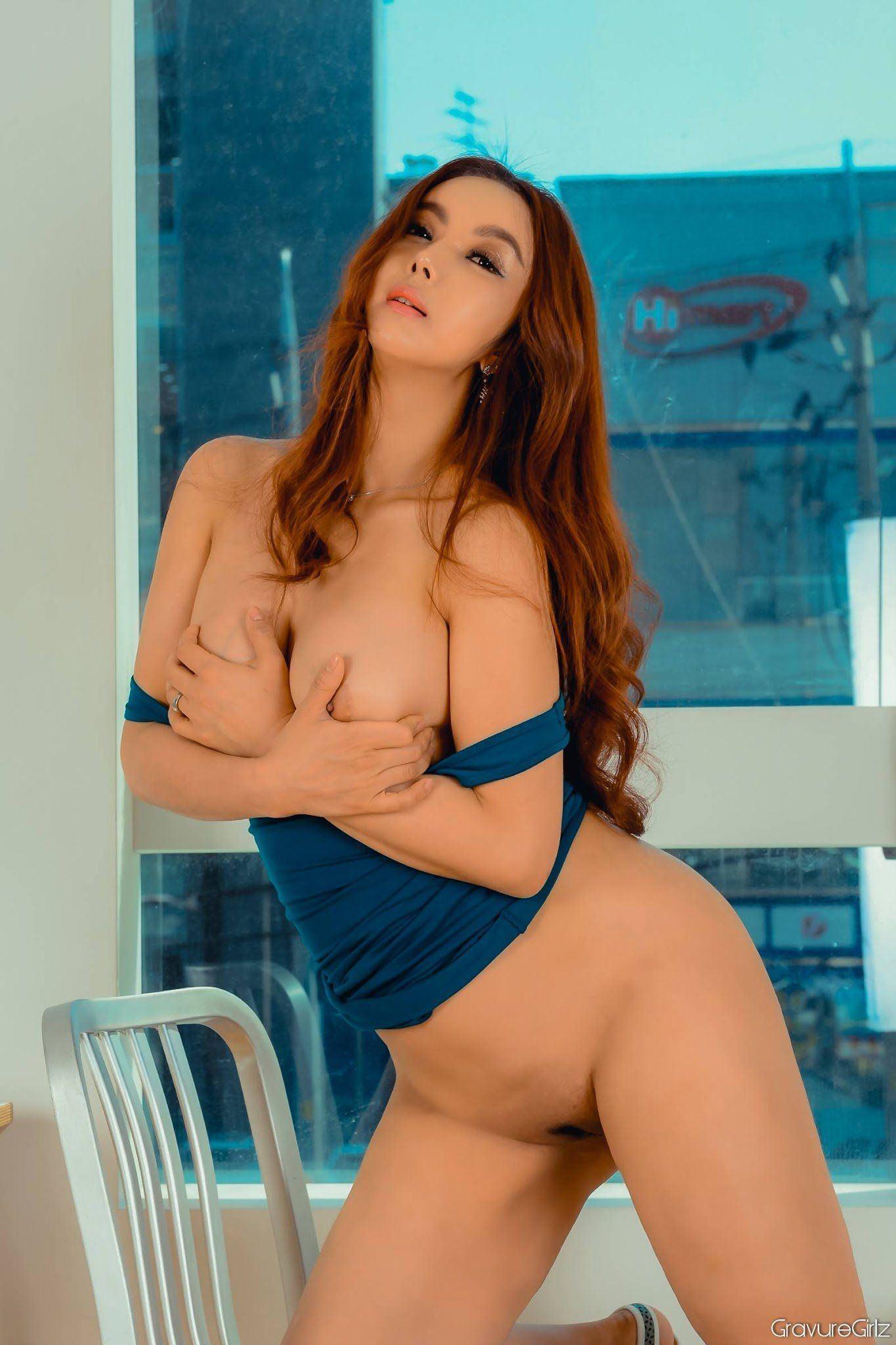 Korean girl model nude