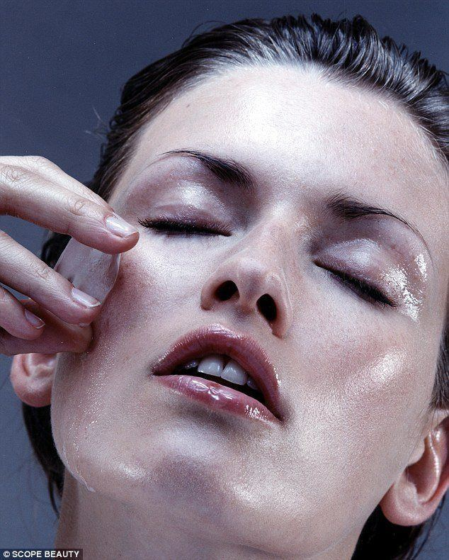 Wishbone reccomend Liquid nitrogin at home facial