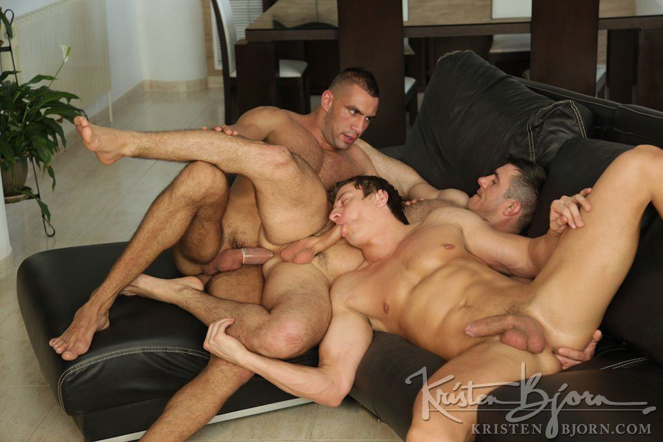European dudes hot orgy