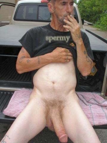 Older man with big cock