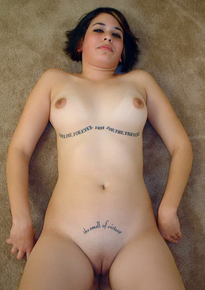 That Sexy hot girl nude emo perfect