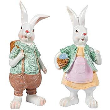 Virgo reccomend Resin boy bunny swinging
