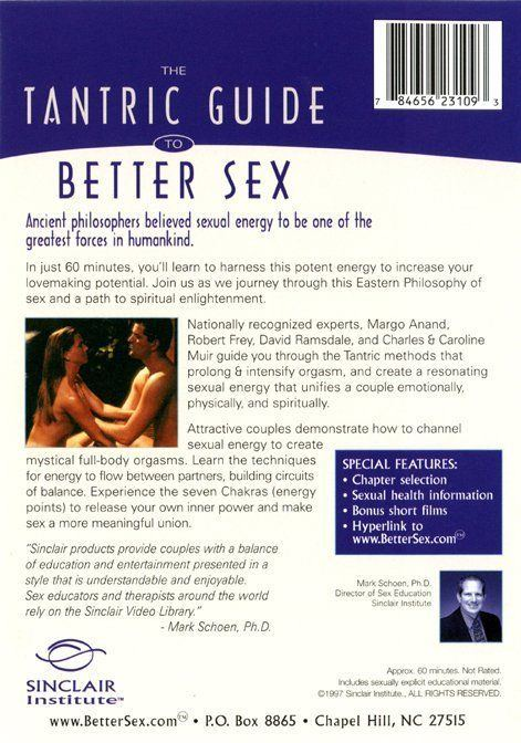 best of Better sex Tantric dvd to guide