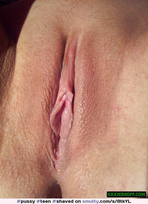 best of Wet shaved pussy Tight