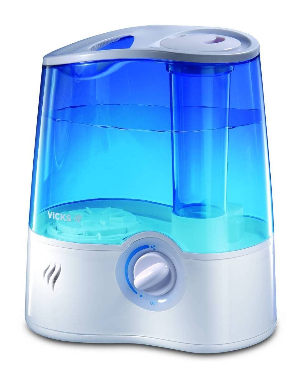 Vicks humidifier smells funny