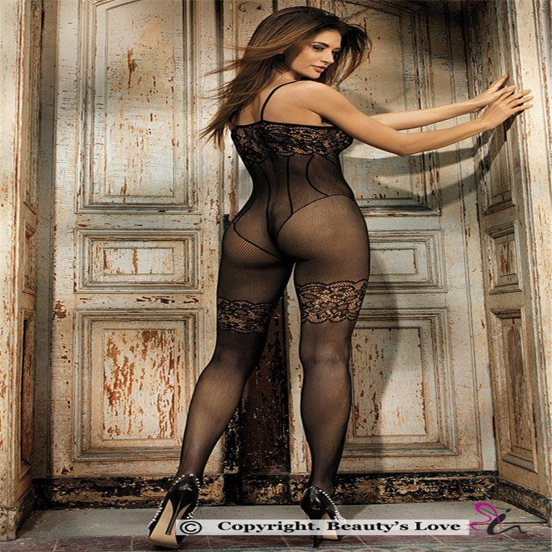 Rellie J. reccomend Women in sexy nude bodystocking