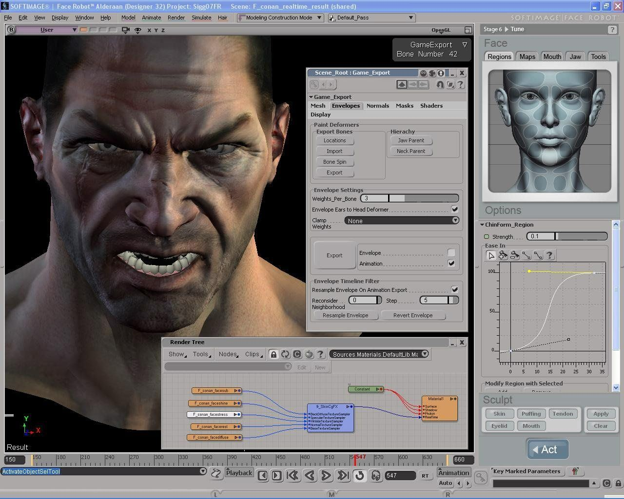 Chaos reccomend Xsi facial animation
